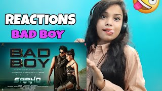 Girl's Reactions On Bad Boy Song By Badshah And Neeti Mohan (Saaho)