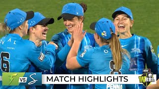 All-round McGrath stars as Strikers see off Thunder | WBBL|07