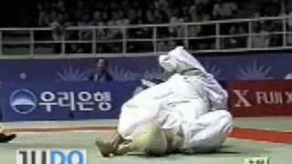 JUDO2002AsianGames:MasatoUchishiba内柴正人JPN-DondogdorjJavkhantugsMGL