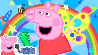 Rainbow Rainbow  | Peppa Pig Songs | Peppa Pig Nursery Rhymes & Kids Songs