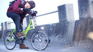 はじめ、電動自転車にハマる。