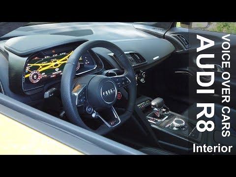 2019 Audi R8 V10 Coupé performance:  Innenraum | Sportsitze | Infotainment | Ablagen | Kritik