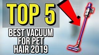 ✅ TOP 5: Best Vacuum For Pet Hair 2019