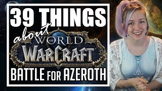 39 Things About Battle for Azeroth | Warfronts, Islands, PvP, Allied Races & More! | TradeChat