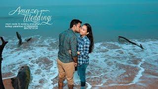 Kerala Wedding Post Wed Shoot Beach Sneehatheeram Regish + Savitha Amaze Wedding Photography