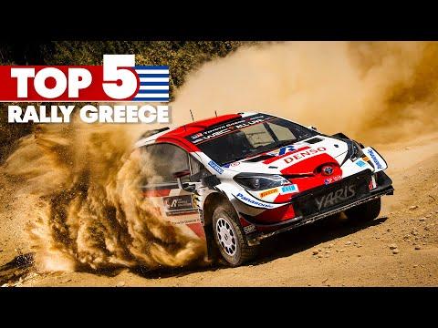 WRC 2021 ラリー・ギリシャ ベストシーンハイライト動画