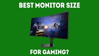 What Is the Best Monitor Size for Gaming? [Simple Guide]