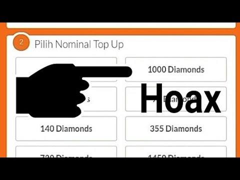 (Terbongkar) top up diamond free fire di codashop lewat html hanyalah Hoax