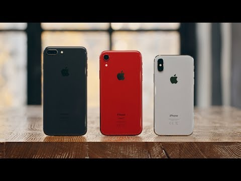 iPhone X vs XR vs 8 Plus – what to take in 2018?
