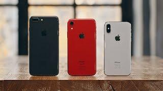 iPhone X vs XR vs 8 Plus — что взять в 2018?
