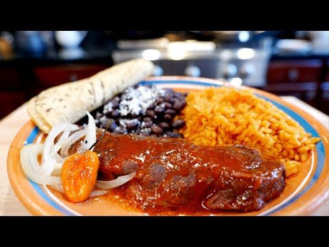 Mexican Boneless Beef Ribs in Achiote Sauce