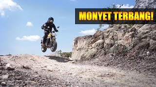 Honda Monkey VS Honda Grom EPIC BATTLE! | PENCURI MONYET EPISOD 2
