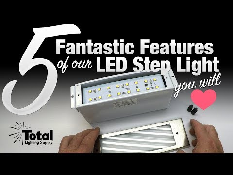 5 Fantastic Features of our LED Step Light you will Love