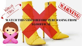 EGO OFFICIAL YOU GOT ME FUC**D UP| EGOSHOES ( RAW FOOTAGE ) EXPOSED!!!!!!!!!!