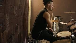Dark Funeral - Vobiscum Satanas - Drum Cover (live version)