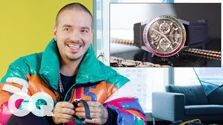 J Balvin Shows Off His Insane Jewelry Collection   GQ