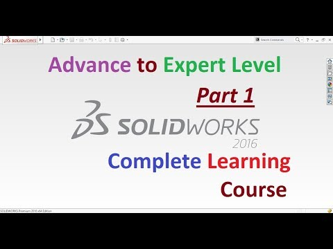 SolidWorks Complete Learning Course Step by Step | Part 1 ...