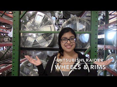 Factory Original Mitsubishi Raider Wheels & Mitsubishi Raider Rims – OriginalWheels.com