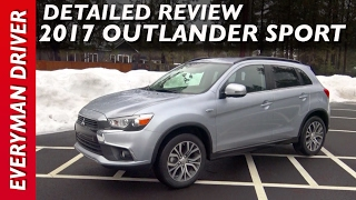 Detailed Review: 2017 Mitsubishi Outlander Sport on Everyman Driver