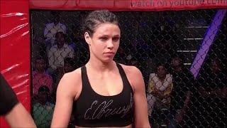 """Lena """"HUNTER"""" Ovchynnikova - MMA highlights 2017"""