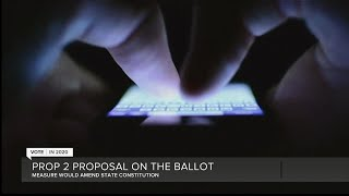 Prop 2 proposal on the ballot