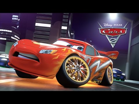Disney Pixar Cars 2 Full Movie-Based Game in English - Lightning McQueen Walkthrough by 2k Cartoons