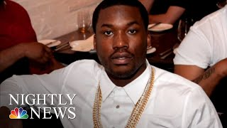 Meek Mill Speaks Out Following Release From Prison   NBC Nightly News