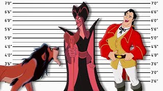 If Disney Villains Were Charged For Their Crimes