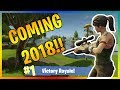 8 BIGGEST Changes Coming in 2018 to Fortnite Battle Royal!