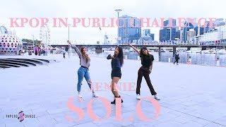 [KPOP IN PUBLIC] SOLO   JENNIE (BLACKPINK) | P4pero Dance Cover