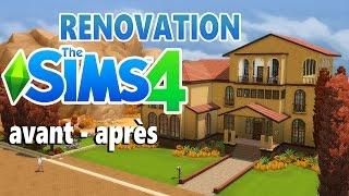 renovation maison sims 4