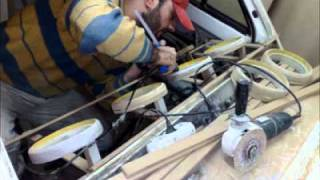 40 000 Watt RMS Müzik Aracının Baştan Sona yapım Aşaması