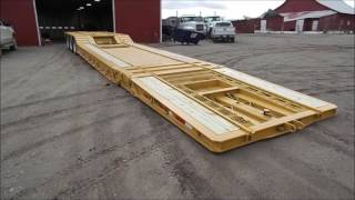2000 Load King 403/4DFPR drop deck equipment trailer for sale | no-reserve auction June 8, 2017
