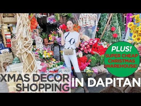 Xmas decor shopping sa dapitan