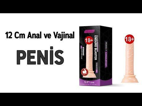 Enduro 12 Cm Anal ve Vajinal Realistik Yumuşak Dokulu Penis