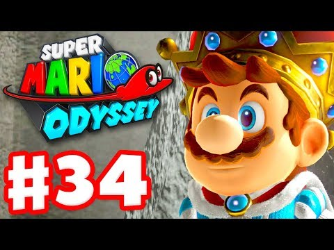 Super Mario Odyssey - Gameplay Walkthrough Part 34 - Dark Side 100%! (Nintendo Switch)