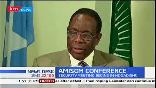 AMISOM security conference takes place in Somalia Mogadishu