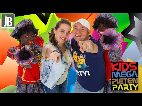 Kids Mega Pieten Party Sinterklaasshow boeken of huren? | JB Productions