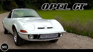 OPEL GT Automatic 1969 - Test drive in top gear - Engine sound | SCC TV
