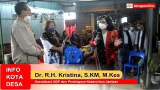 Dr. R. H. Kristina, S.KM., M.Kes: Sosialisasi ODF dan Pentingnya Kebersihan Jamban