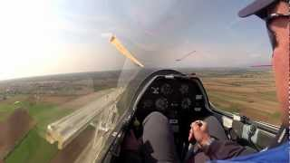 preview picture of video 'Fly & Joy SailPlane Take off San Mauro 27 ASK 21'