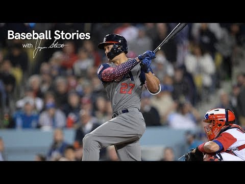 Giancarlo Stanton Reflects On Impact Of World Baseball Classic | Baseball Stories