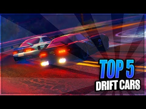 GTA 5 ONLINE - TOP 5 *BEST* DRIFTING CARS - Best Cars Used For Drifting (GTA 5)