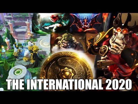 The International 2020 BATTLE PASS Review All Rewards Arcanas Maps Treasures (TI10) Dota 2