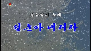 [HQ] Moranbong Band - Please, let the Snow Fall On The New Year's Day / 설눈아 내려라