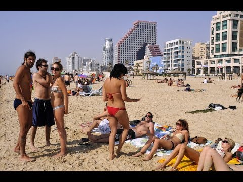 (ISRAEL TRAVEL DIARY 1) Best Beach Tel aviv and Taste of Shrimps