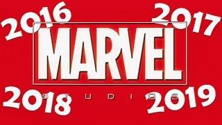 Marvel Sets Release Dates Through 2019