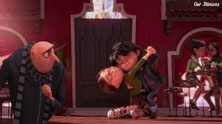 Margo & Antonio Love - Despicable Me 2  Hd