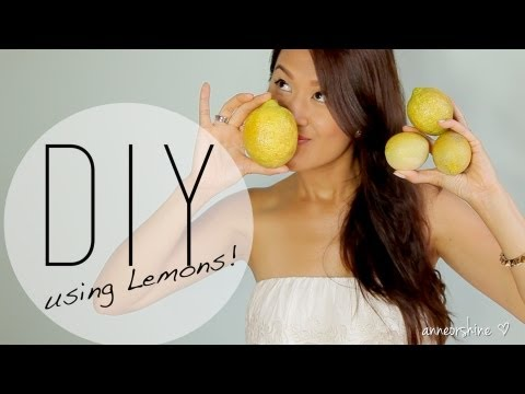 3 Beneficial Beauty DIY Using Lemons | Natural Deodorant | ANNEORSHINE