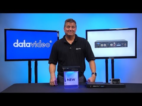 Introducing the Datavideo DAC-45 4K Up-Down Video Cross Converter
